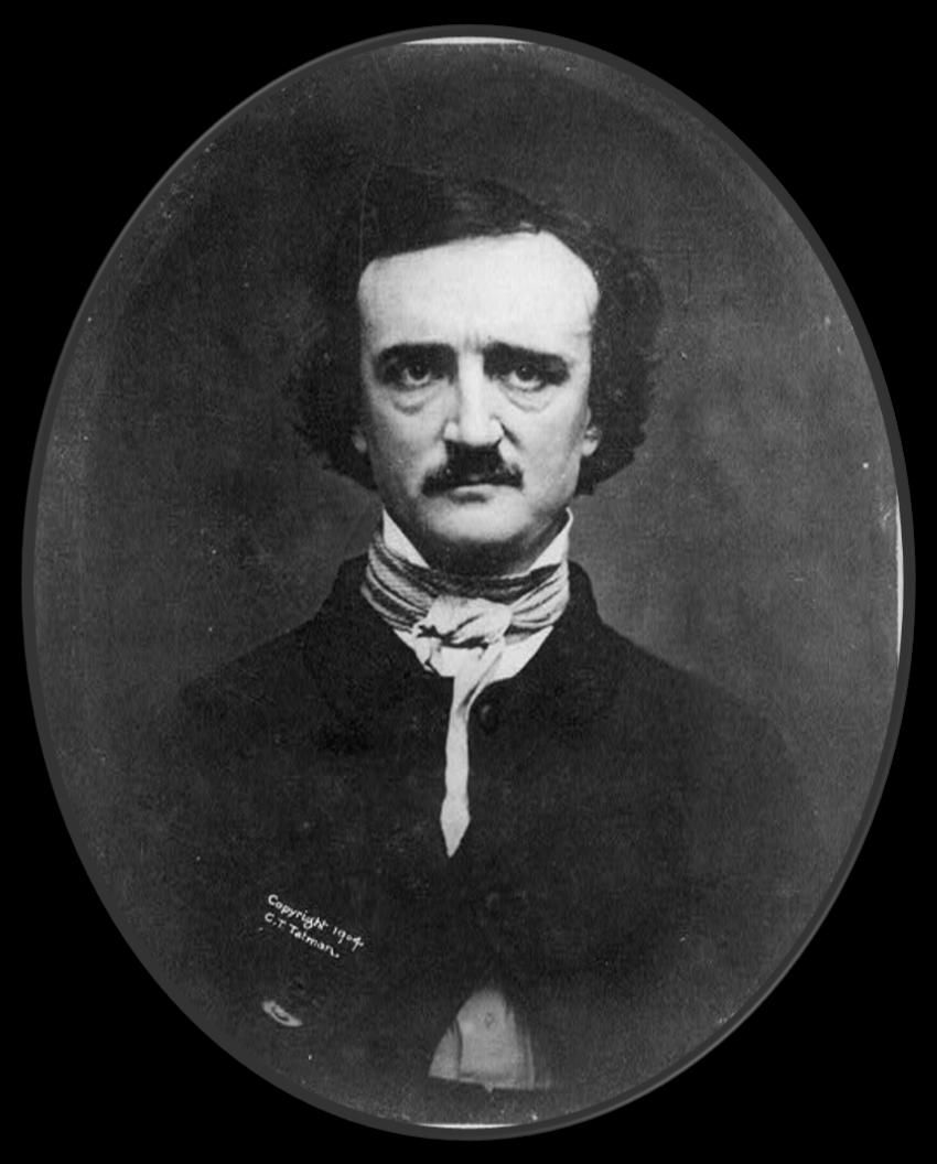 Looking Back Edgar Allan Poe Harris County Law Library