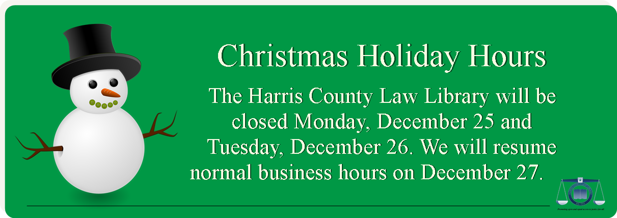 Events harris county law library holiday hours christmas 2017g solutioingenieria Images