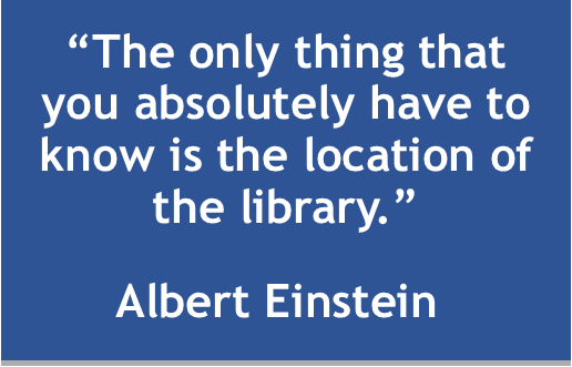 Einstein Library Quote.png