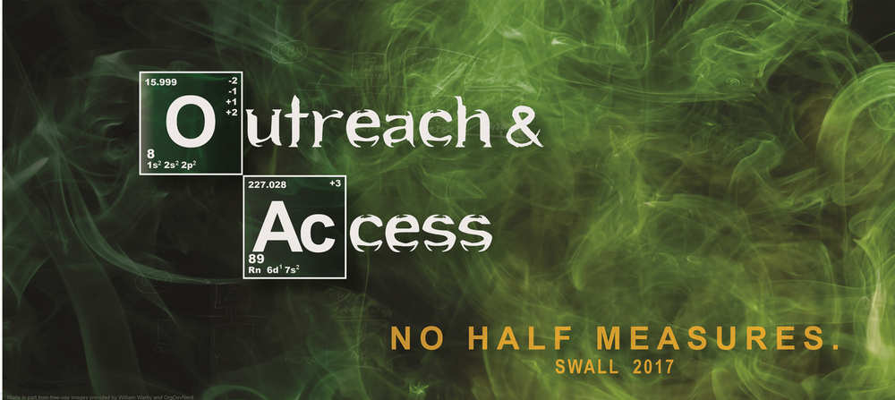 Click for information on last year's SWALL conference entitled Outreach & Access - No Half Measures.