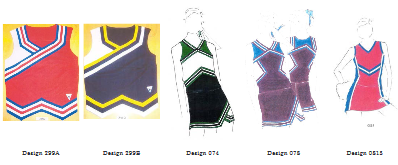 The cheerleader uniforms at the heart of the Star Athletica case.