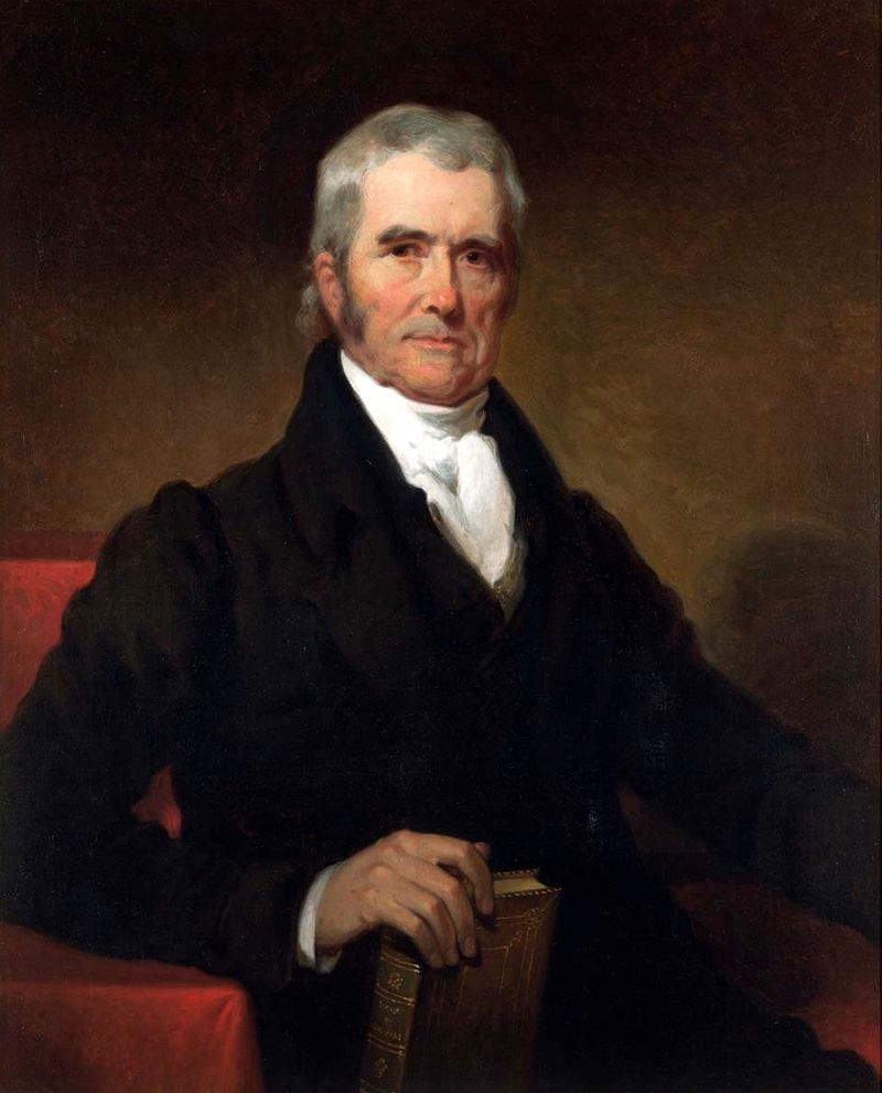 Justice John Marshall was the first to flex SCOTUS's Judicial Review muscle.