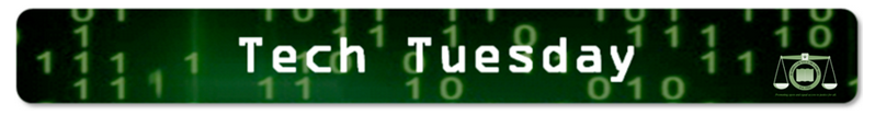 Tech Tuesday, a weekly feature of Ex Libris Juris