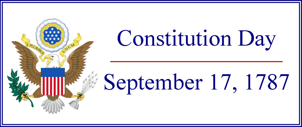 Constitution Day, September 17, 1787