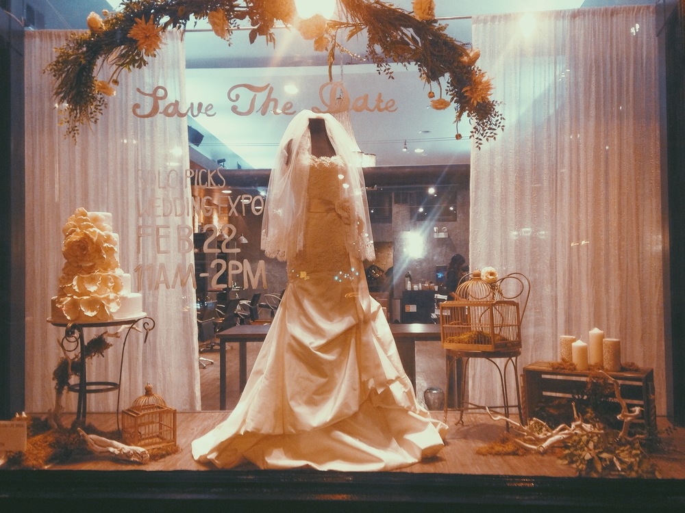 Solo Salon Wedding Window