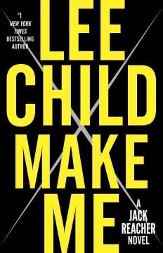 Melanie is enjoying Make Me by Lee Child in hardcover.  It releases Tuesday!