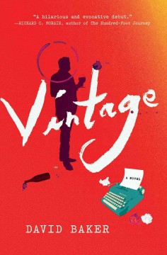Rebecca is reading Vintage by David Baker.  It releases September 22nd!