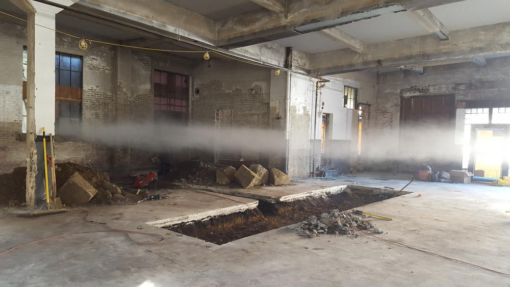 Spoiler alert! Its our taproom....(and a smoke monster). Still some work to do, but you can get the rough idea.