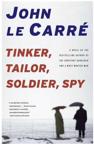 Tinker, Tailor, Soldier, Spy , the 1974 spy novel by John Le Carre, doesn't exactly contain a Lamplighter as the protagonist, but it does refer to Lamplighters as a section of British Intelligence that provided surveillance and couriers. Cool. Maybe we're secretly a spy organization and you'll never know.