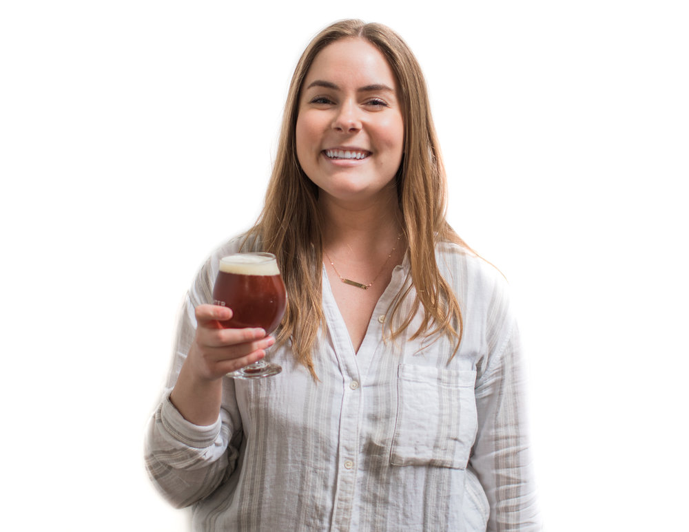 LIZ STARKS    Beer Education, Certified Cicerone   Liz is our in-house beer expert and tasting aficionado. As a Certified Cicerone, Liz is in charge of any private tours and tastings in our facility. She also hosts various staff tastings to educate our team on beer styles, proper serving techniques, and the like.