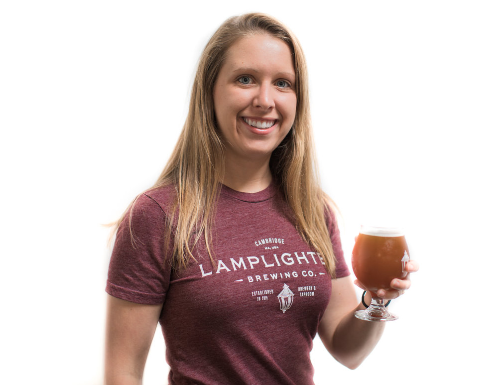 JESS ALEXANDER    Microbiologist   Jess is our resident yeast wrangler, in charge of watching the health and growth of what makes our beer. She holds a PhD in biology from MIT, and flaunts an additional background in biochemistry.