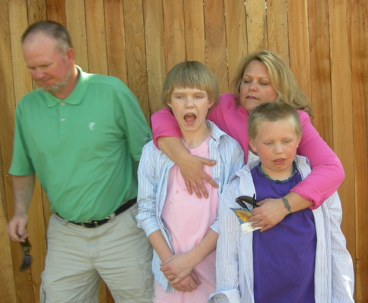 Filholm Family, Easter, 2010