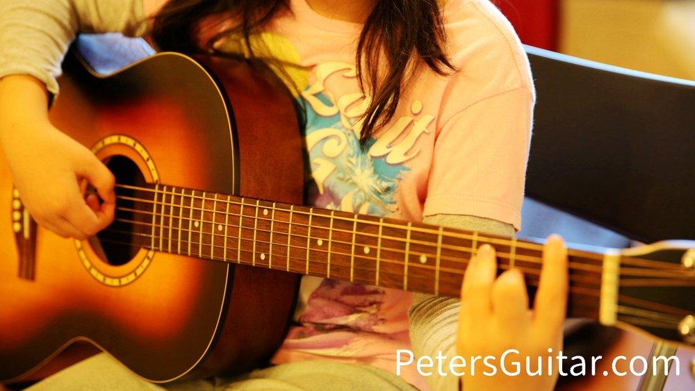 少儿吉他及流行音乐启蒙班