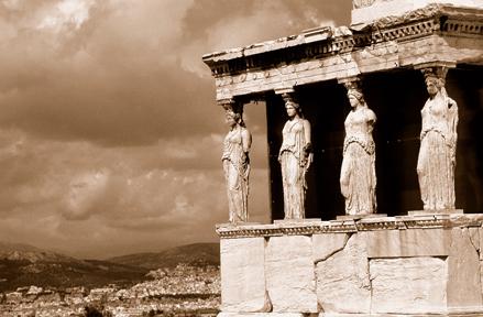 Caryatids. Athens, Greece SEP