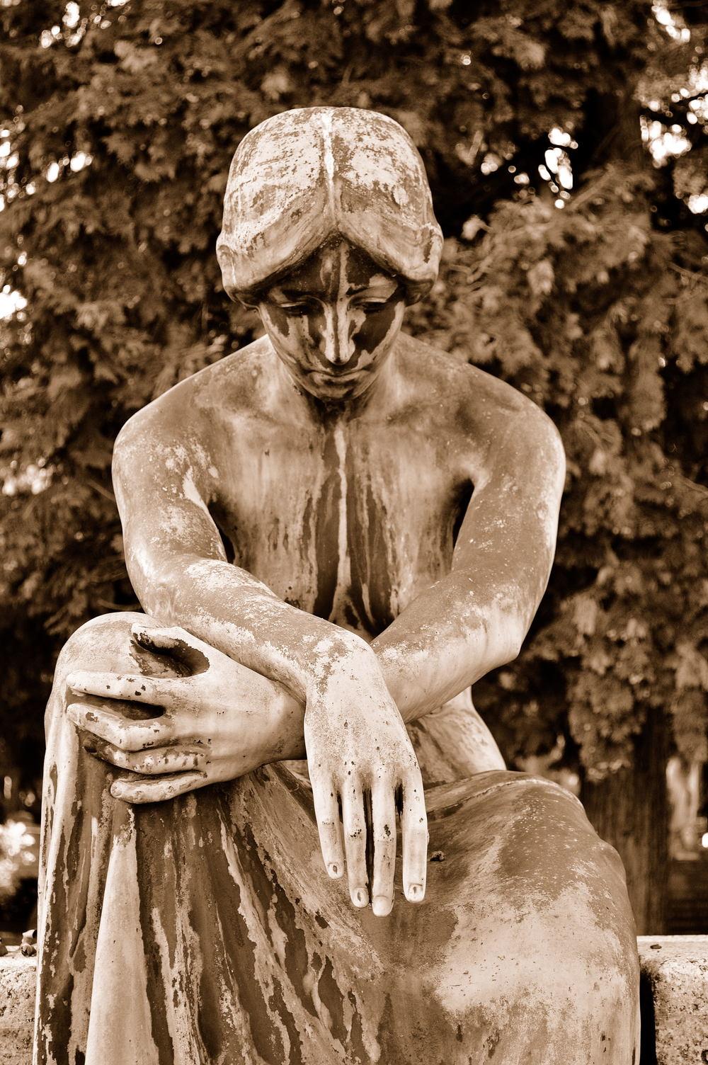 Headstone. Stuttgart, Germany SEP