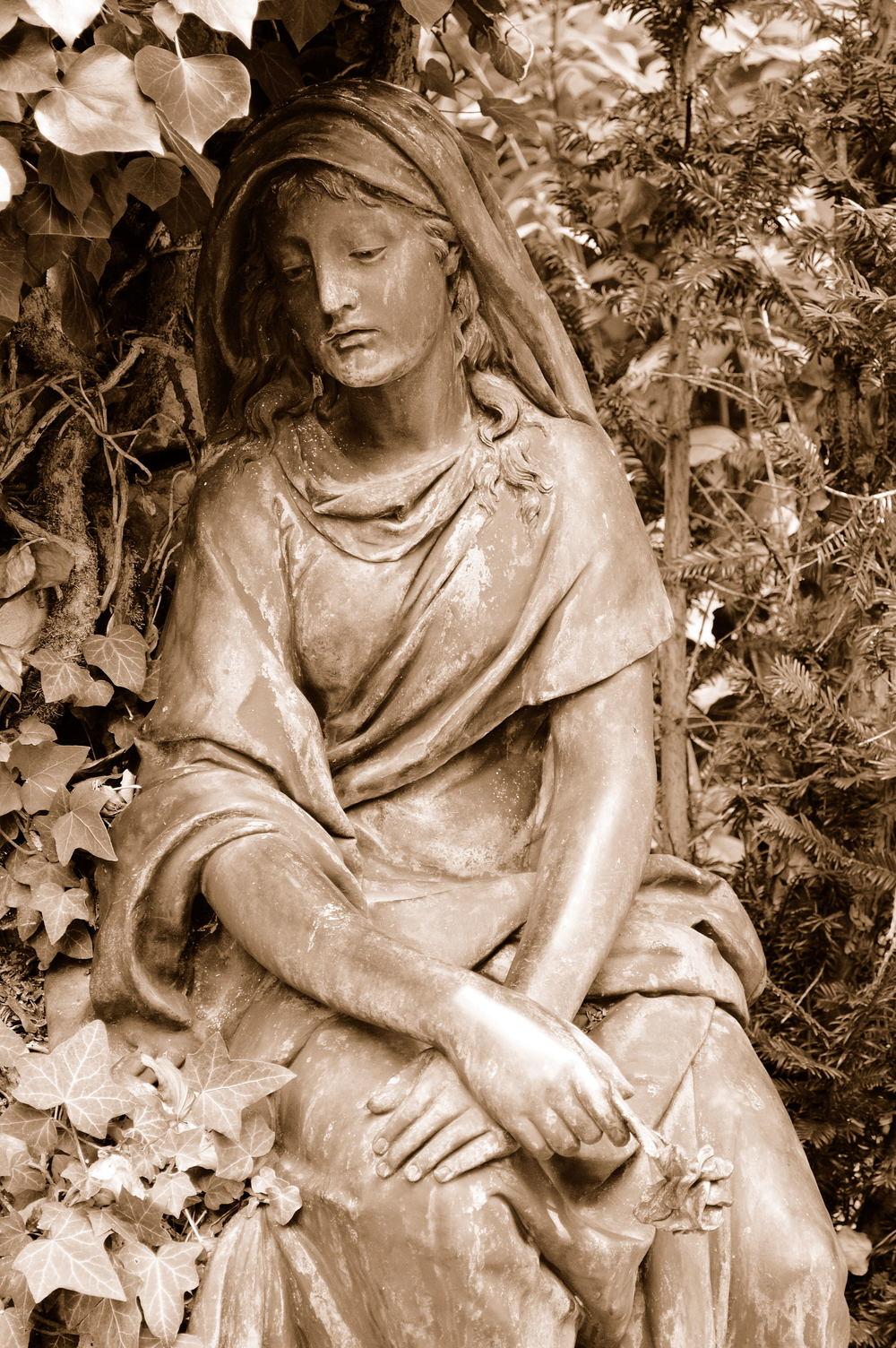 Headstone. Wuerzburg, Germany SEP