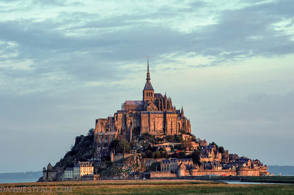 Mont St. Michel morning France. #0268