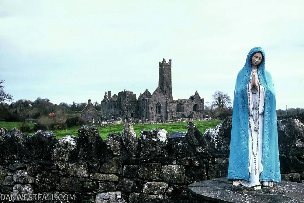 Quin Abbey. Ireland #0244