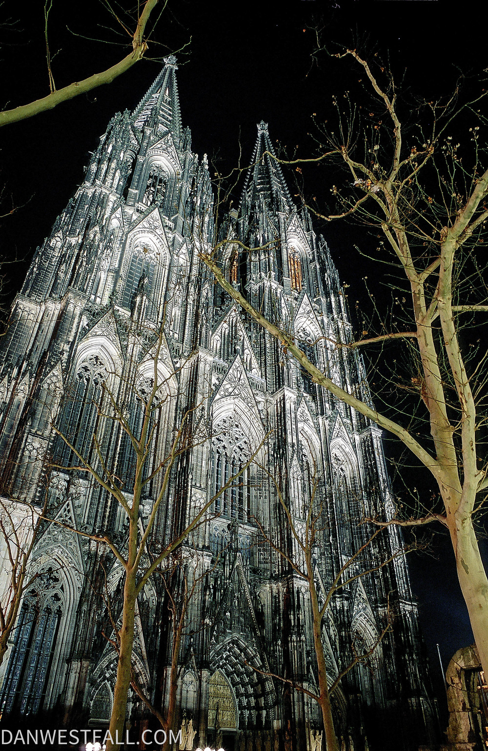 Germany. Cologne Cathedral night.#0237