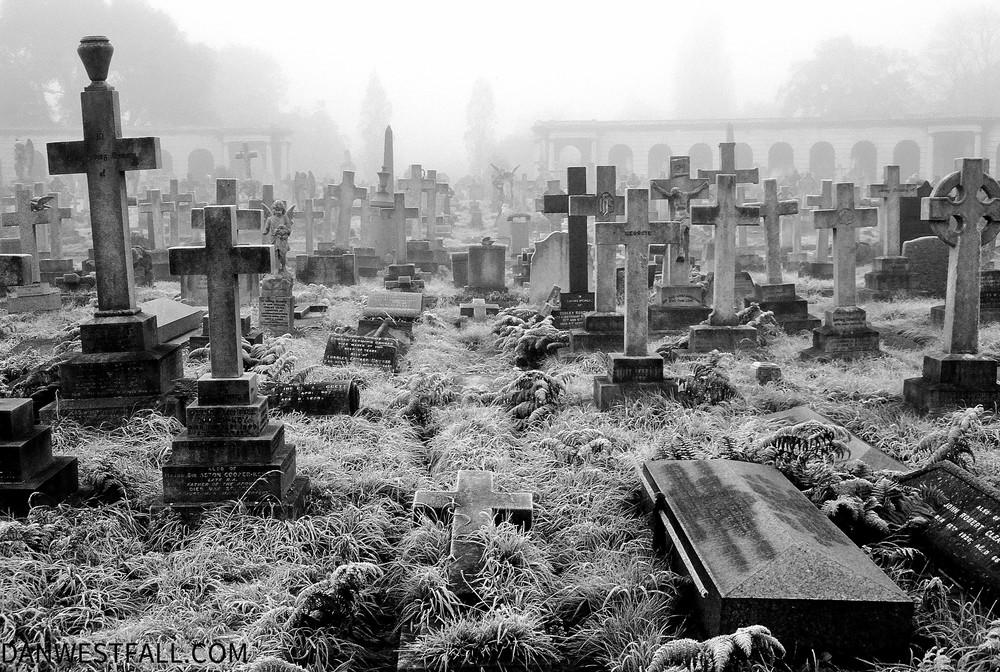 London. Brompton Cemetery 3. #0569