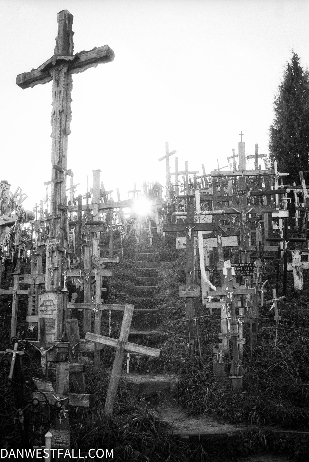 Lithuania. Hill of Crosses 4. #0584