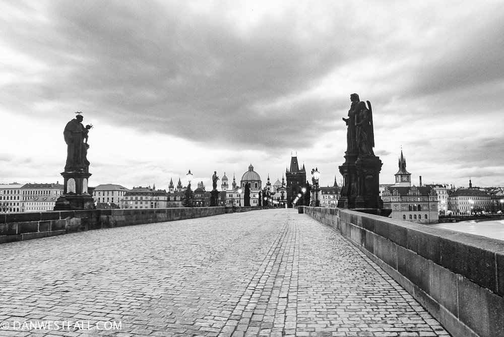 Prague. Charles Bridge. #0593