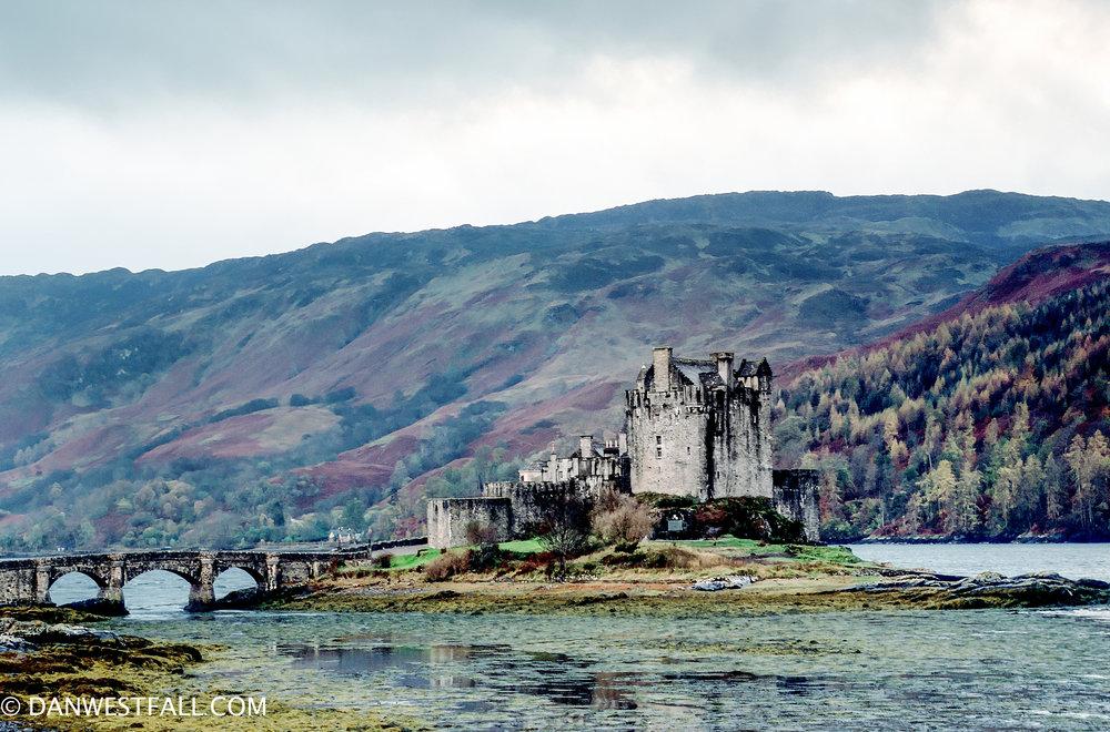 Scotland. Eilean Donan Castle #.0310