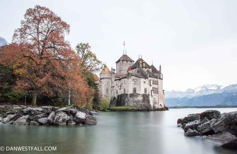 Switzerland. Chillon Castle. long exposure. #0321