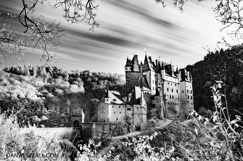 Germany. Burg Eltz infrared. #0655