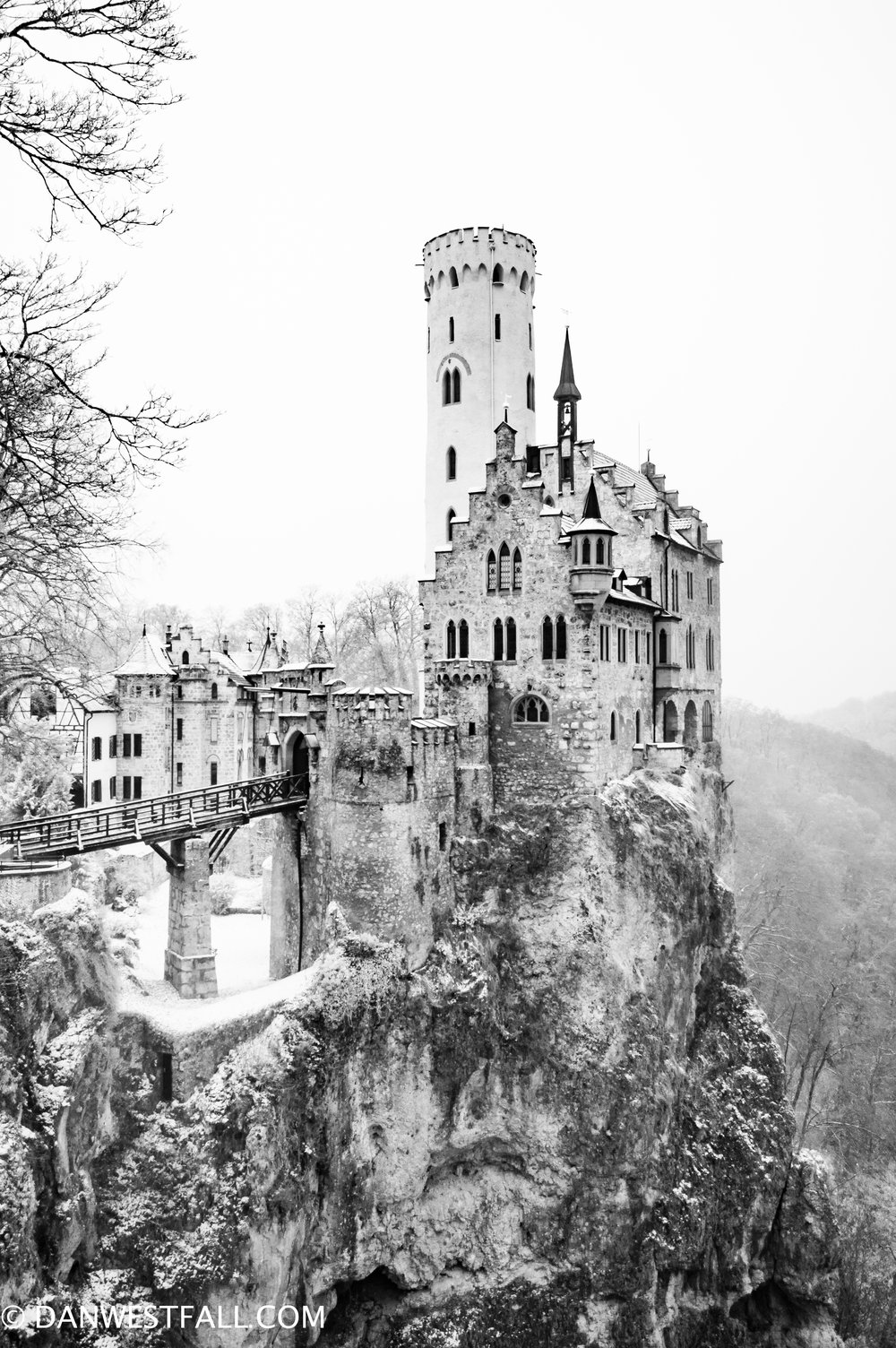 Germany. Lichtenstein Castle infrared.#0662