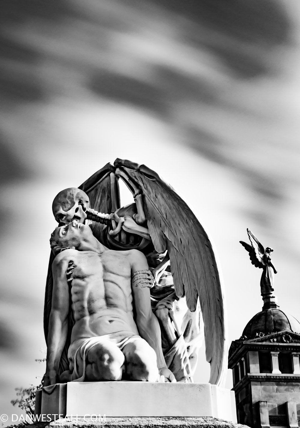 Barcelona. Kiss of Death infrared. #0676