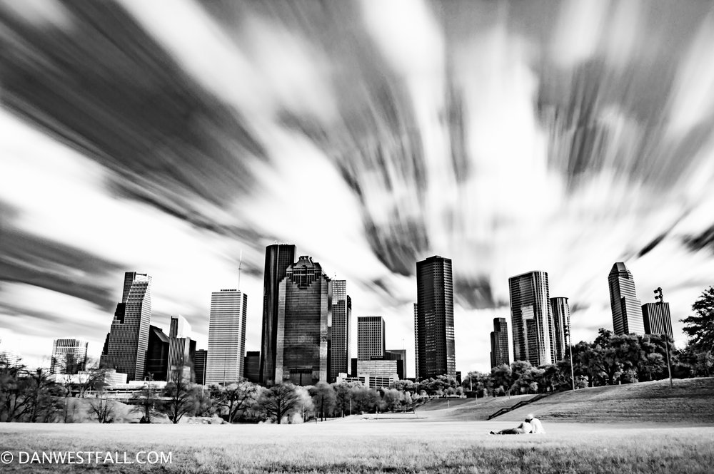 Buffalo Bayou infrared. Houston, Tx. #.697