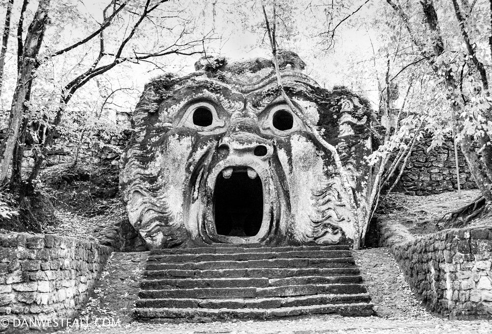 Bomarzo, Italy. The Ogre. #.692