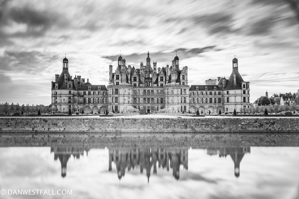 Chateau Chambord, France. Long exposure. # 0930