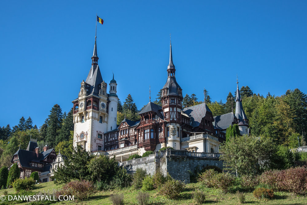 Peles Castle. Sinaia, Romania. #0942
