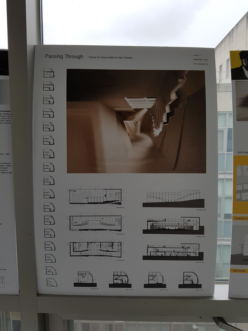 This project was particularly interesting as it shares bit of similarities of what I did for my project. Having multiple section cut views to further explain the detail in changes were very interesting and easy to understand.  이 프로젝은 제가 했던 것과 비슷한 프렌테이션 방식을 보여주고 있어 특히나 흥미로웠습니다. 여러 개의 단면도를 통해 건물의 변화과정이나 등등을 이해하기 쉽고 많은 도움이 된 것 같습니다!
