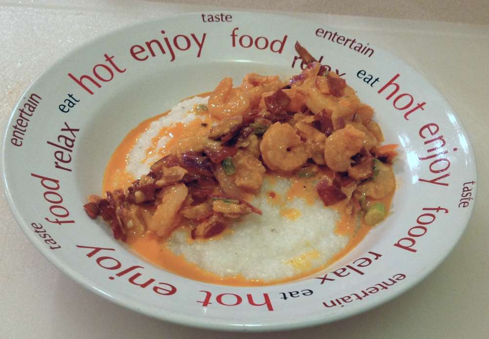 brown sugar shrimp and grits