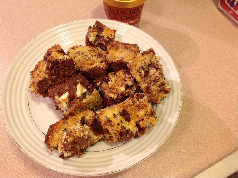 mascarpone chesse brownies