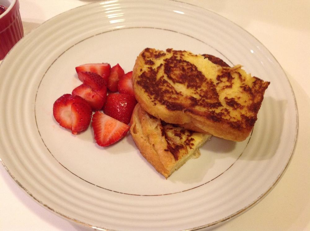 mascarpone stuffed french toast