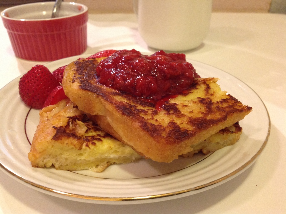 mascapone stuffed french toast