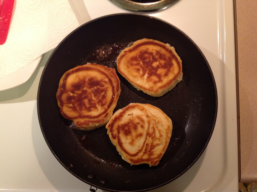 simple [quick] pancake recipe