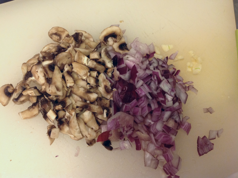 mushroom and pancetta gravy