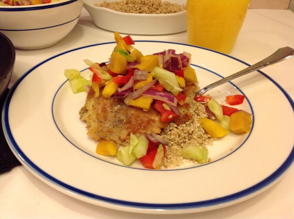 quinoa and sweet potato sliders