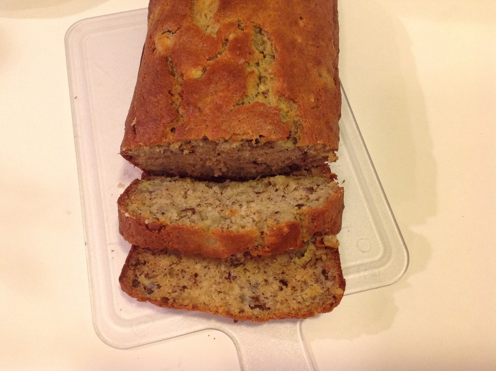 Banana Walnut Bread.  YAASSS !!! One of the best things I made in 2014. Perfect to gift.