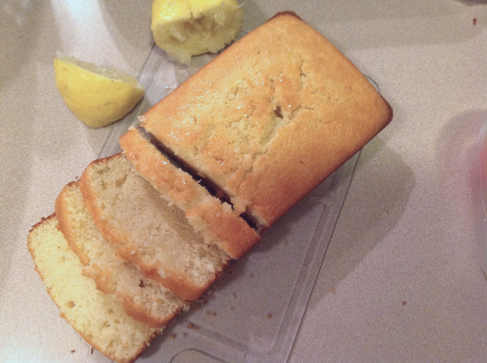 Lemon Infused Lemon Cake - I can't even, so lemony, so good.