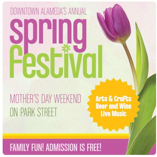 "I'll be vending at this two day event this weekend, bring the whole family!: ""The Downtown Alameda Spring Festival is a Mother's Day tradition in the San Francisco Bay Area. The popular street fair takes place on Park Street each year during the second weekend in May. 18th Annual Downtown Alameda Spring Festival Mother's Day Weekend - May 12 & 13, 2018  The Downtown Alameda Spring Festival has something for everyone and is FREE to attend! The fun happens in Alameda's historic downtown Park Street district from 10:00am to 6:00pm each day."""
