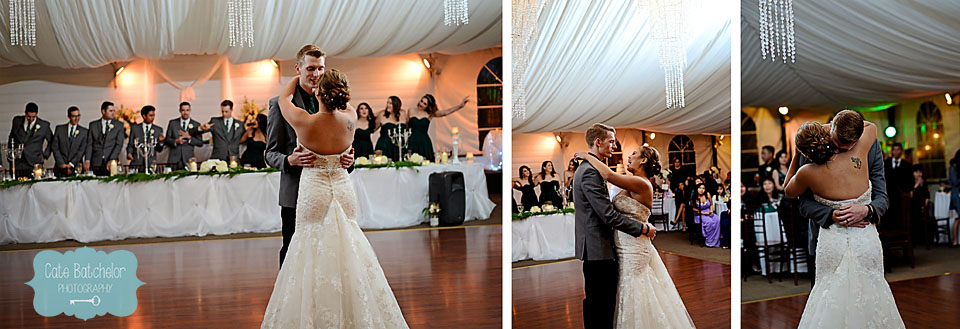 First dance as husband and wife!