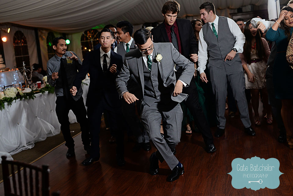 Tearing up the dance floor!