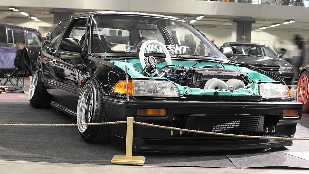Markus Viinikka's -88 Civic also received a Top Ten award.
