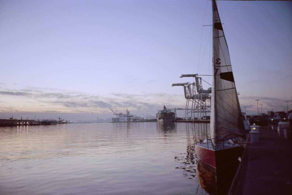 Oakland Estuary, California